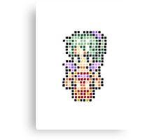 Pixel Terra Canvas Print