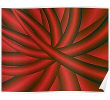 Ball of fractal string Poster