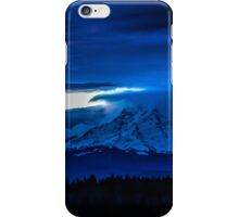 Mt Rainier moring iPhone Case/Skin