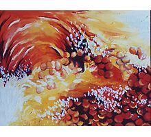 Sun bubbles Photographic Print