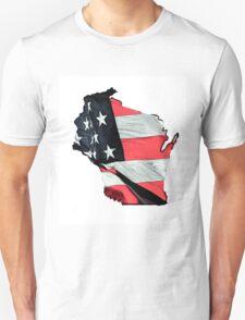 Wisconsin, U.S.A. Unisex T-Shirt