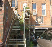 Art Alley Resident Entrance by Karen Larsson