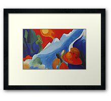 Natures Spirit Rising Framed Print