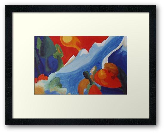 Natures Spirit Rising by Jill Mattson