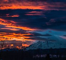 Fire in the sky by James Duffin