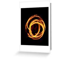 OCF Fire Poi 3 Greeting Card