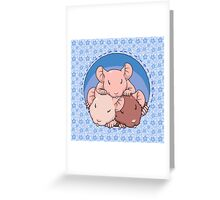 Ratnap blue Greeting Card