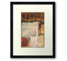 a garden of stone Framed Print