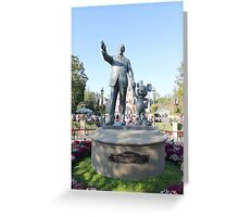 Partners statue  Greeting Card