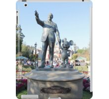 Partners statue  iPad Case/Skin