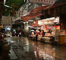 Graham Street Market #1 by Elaine Li