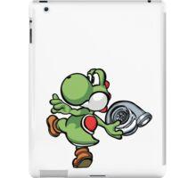 Yoshi throwing turbo iPad Case/Skin