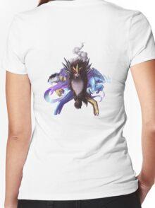 Pokemon: Legendary Beasts Women's Fitted V-Neck T-Shirt