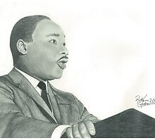 Martin Luther King Jr. Portrait by Rakeem Carter