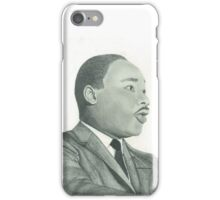 Martin Luther King Jr. Portrait iPhone Case/Skin