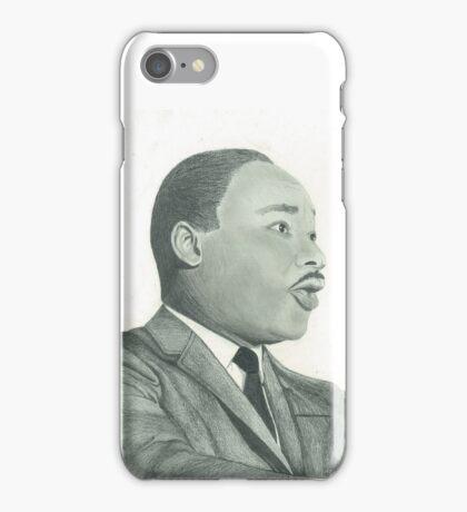 Martin Luther King Jr. Portrait iPhone Case/Skin