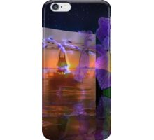 Waves from a flowers breath take no limits to their depth  iPhone Case/Skin