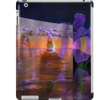 Waves from a flowers breath take no limits to their depth  iPad Case/Skin