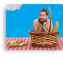 Hairy Picnic Canvas Print