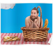 Hairy Picnic Poster