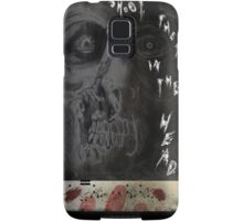 SHOOT THEM IN THE HEAD Samsung Galaxy Case/Skin