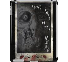 SHOOT THEM IN THE HEAD iPad Case/Skin