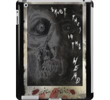 SHOOT THEM IN THE HEAD iPad Case/Skin