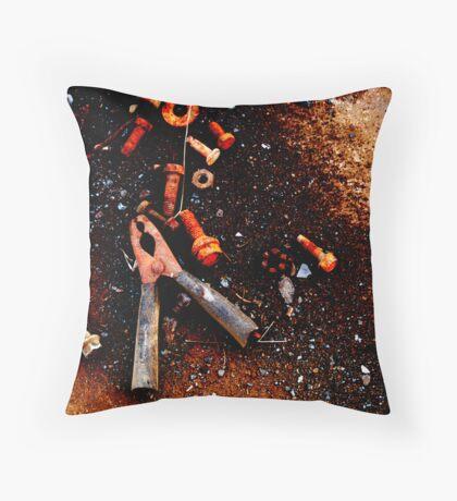 Bits & Pieces Throw Pillow