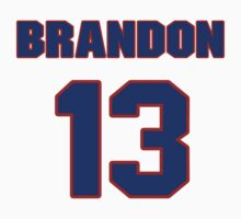 National baseball player Brandon Laird jersey 13 by imsport