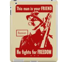 RUSSIAN SOLDIER iPad Case/Skin
