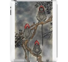 A Meeting With the Grey Council iPad Case/Skin