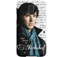 Benedict Cumberbatch, Sherlock Holmes - I Am Sherlocked Samsung Galaxy Case/Skin