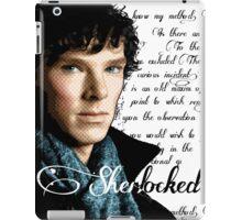 Benedict Cumberbatch, Sherlock Holmes - I Am Sherlocked iPad Case/Skin