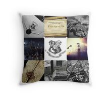 A Journey To Hogwarts Throw Pillow