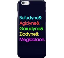 Persona& Spells& Hipster. iPhone Case/Skin