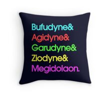 Persona& Spells& Hipster. Throw Pillow