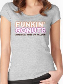 Funkin' Gonuts Women's Fitted Scoop T-Shirt