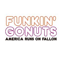 Funkin' Gonuts Photographic Print