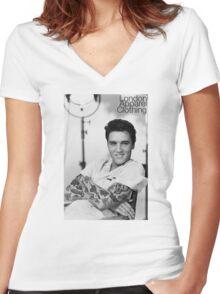 Presley Ink'd Women's Fitted V-Neck T-Shirt