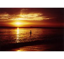 Sunset at Ocean Grove Photographic Print