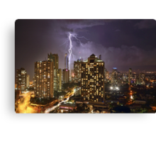 The Gods Must Be Angry Canvas Print