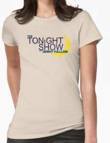 The Tonight Show starring Jimmy Fallon Womens Fitted T-Shirt