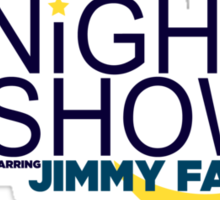 The Tonight Show starring Jimmy Fallon Sticker