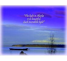 Mount Susitna Photographic Print