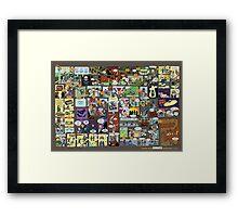 Choose your own Goonies adventure! Framed Print