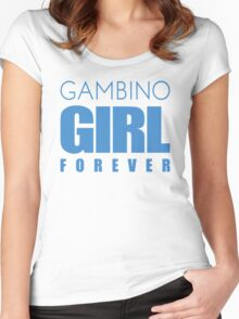 Gambino Girl Forever Women's Fitted Scoop T-Shirt