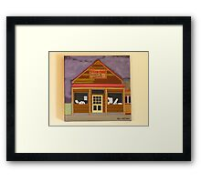Fish Creek Timber & Hardware Framed Print