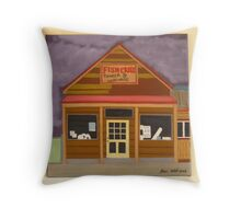 Fish Creek Timber & Hardware Throw Pillow