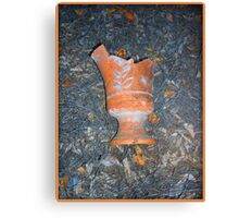 Broken Vase Canvas Print