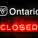 Ontario Closed by Chris Richards